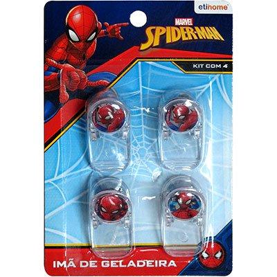 Imã fixador de lembretes SpiderMan DYH-276 Etihome BT 4 UN