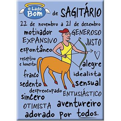 Imã signo Sagitário bom Imãs do Brasil BT 1 UN
