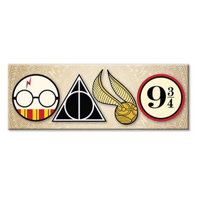 Imã Harry Potter ícones PAN00048 Imãs do Brasil BT 1 UN