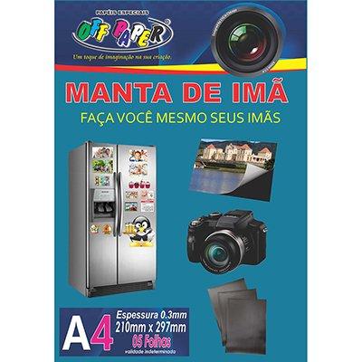 Imã sem adesivo A4 (manta magnética 210x297x0,3mm) Off Paper PT 5 UN