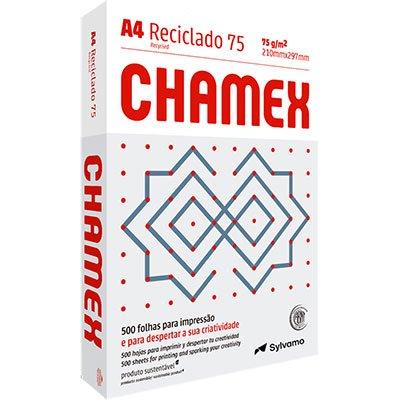 Papel reciclado 75g 210x297 A4 Chamex reciclado Ipaper PT 500 FL