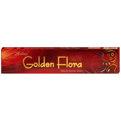 Incenso ambience golden flora Nova Era CX 15 UN