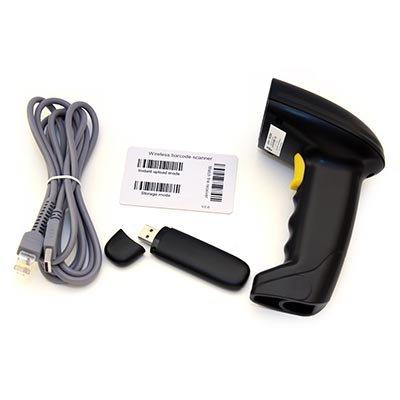 Leitor de código de barras sem fio Laser USB preto LW200 Nonus CX 1 UN