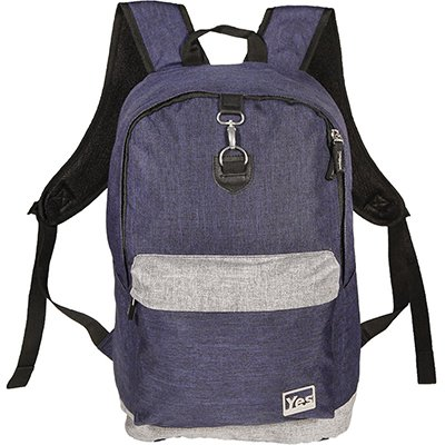 "Mochila p/notebook 15,4"" azul MC1813N Yes PT 1 UN"