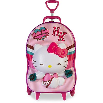 Mochila EVA c/ rodas Hello Kitty 2823AM19 Maxtoy PT 1 UN