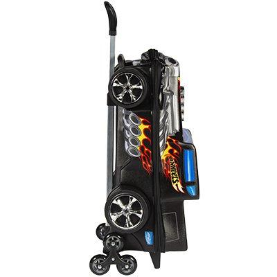 Mochila EVA c/ rodas hotwheels Shaker 2500EM19 Maxtoy PT 1 UN