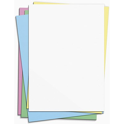 Cartolina 150g 50x66 cores mistas card set Spiral PT 10 UN