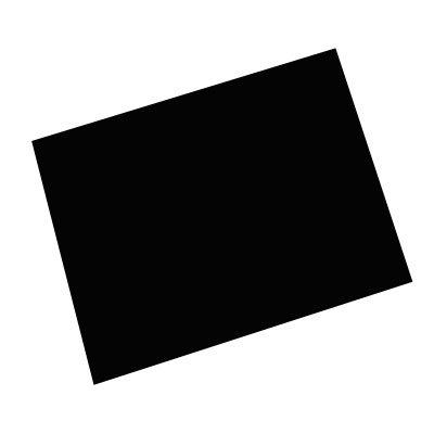 Papel cartão fosco 50x70 240G preto Spiral PT 10 UN