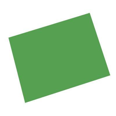 Papel cartão fosco 50x70 240G verde Spiral PT 10 UN