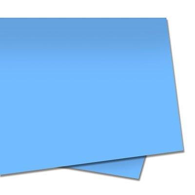 Papel color set 48x66 110g azul celeste Moopel PT 10 FL