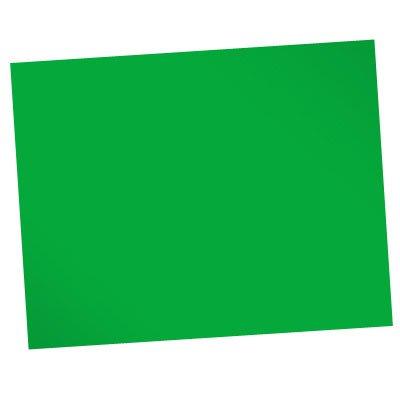 Papel duplicolor 48x66 180g verde 09937 Spiral PT 20 UN