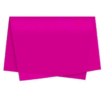 Papel de seda 48x60cm pink Moopel PT 100 FL
