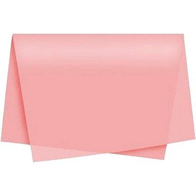 Papel de seda 48x60cm rosa claro Moopel PT 100 FL