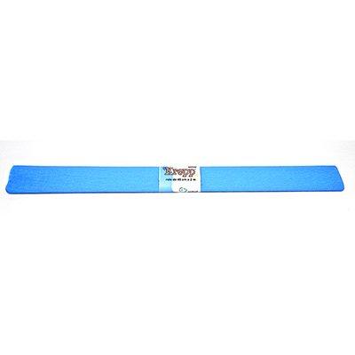 Papel crepon azul turquesa Moopel PT 1 UN