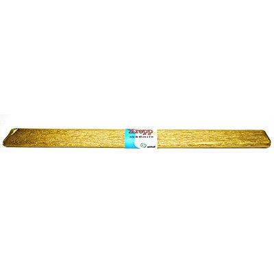 Papel crepon ouro Moopel PT 1 UN