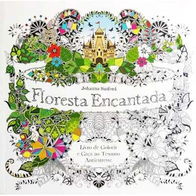 Livro para colorir Floresta Encantada Catavento PT 1 UN