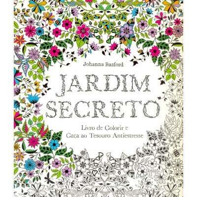 Livro para colorir Jardim Secreto Catavento PT 1 UN
