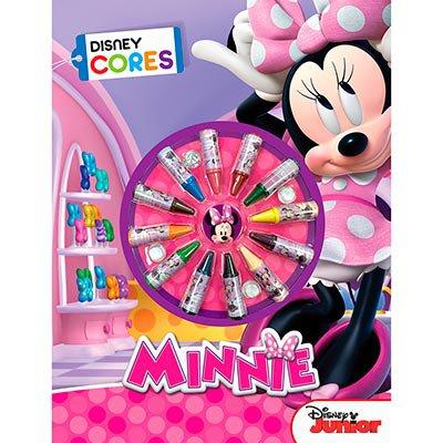 Livro para colorir infantil Disney cores Minnie Mouse Dcl PT 1 UN