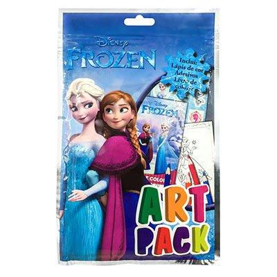 Livro para colorir infantil Disney Artpack Frozen Catavento PT 1 UN