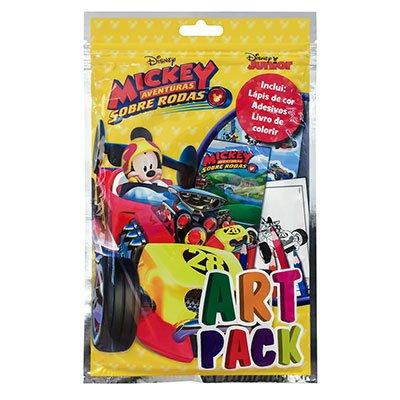 Livro para colorir infantil Disney Artpack Mickey Catavento PT 1 UN