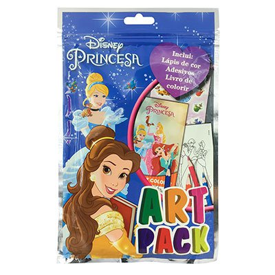 Livro para colorir infantil Disney Artpack Princesa Catavento PT 1 UN
