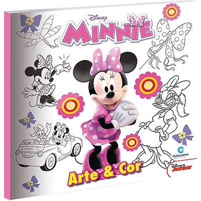 Livro para colorir infantil Arte Minnie 520202 Culturama PT 1 UN
