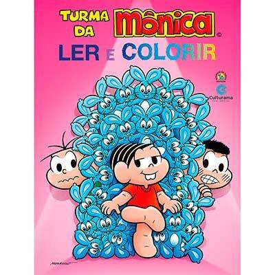 Livro para colorir infantil Turma da Mônica 210021 Culturama PT 1 UN