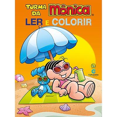 Livro para colorir infantil Mônica 210022 Culturama PT 1 UN