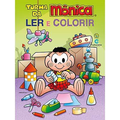 Livro para colorir infantil Cascão 210024 Culturama PT 1 UN
