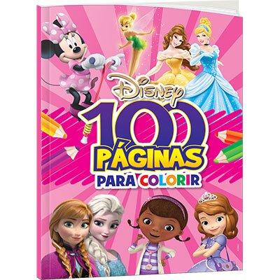 Livro para colorir infantil c/100 pág. Disney F Bicho Esperto PT 1 UN
