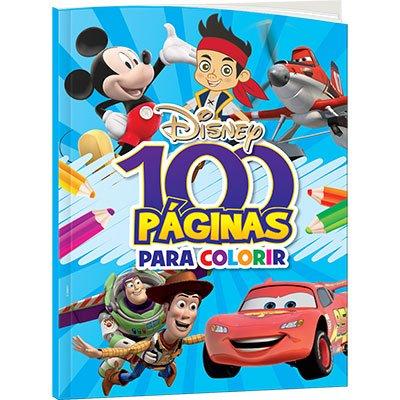 Livro para colorir infantil c/100 pág. Disney M Bicho Esperto PT 1 UN