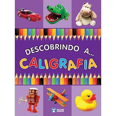 Livro infantil Descobrindo a Caligrafia Bicho Esperto PT 1 UN