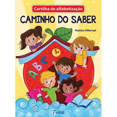 Livro infantil Cartilha do Alfabeto Bicho Esperto PT 1 UN