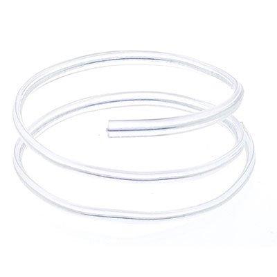 Fecho prático  aramado 4x11cm cristal 04060211 Indústria e Comercio PT 100 UN
