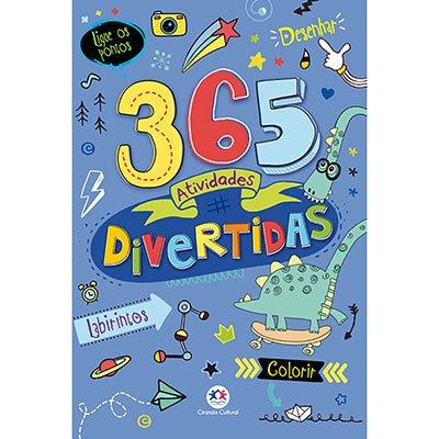 Livro infantil 365 atividades divertidas Ciranda Cultural PT 1 UN
