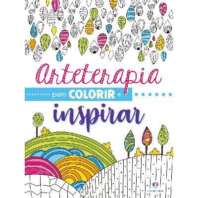 Livro para colorir Arterapia Colorir Inspirar Ciranda Cultural PT 1 UN