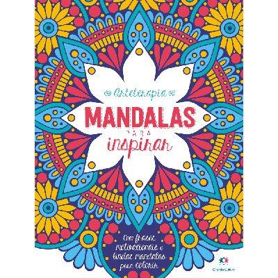Livro para colorir Mandalas para Inspirar Ciranda Cultural PT 1 UN