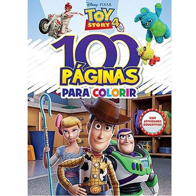 Livro para colorir infantil c/100 pág.Toy Story Bicho Esperto PT 1 UN