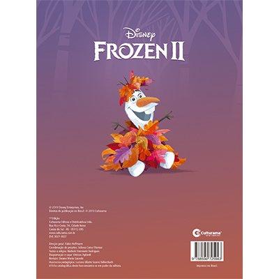 Livro para colorir infantil Frozen 2 Culturama PT 1 UN