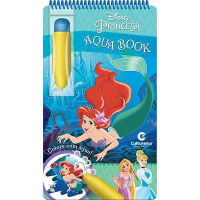 Livro para colorir infantil Aquabook Princesas Culturama PT 1 UN