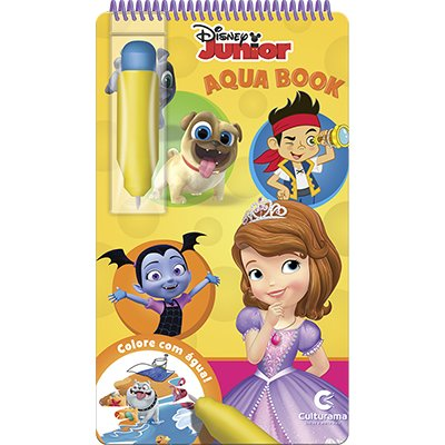 Livro para colorir infantil Aquabook Disney Culturama PT 1 UN