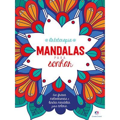 Livro para colorir Mandalas para sonhar Ciranda Cultural PT 1 UN