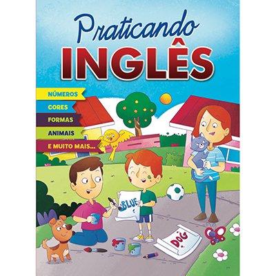 Livro infantil Cartilha praticando Ingles Bicho Esperto PT 1 UN