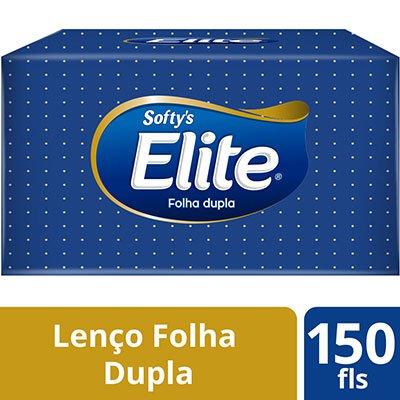 Lenço papel folha dupla 21x22,0 Softys Melhorampapeis CX 150 FL CX 150 FL