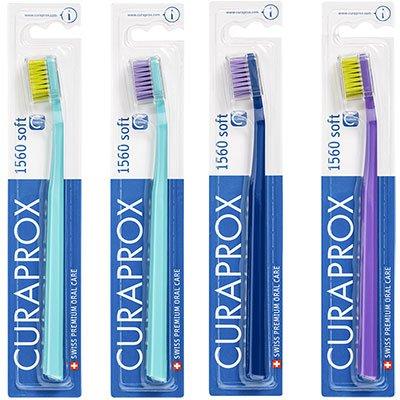 Escova dental Macia 1560B adulto sortidas 01003 Curaprox BT 1 UN