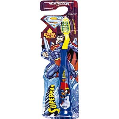 Escova dental Superman com ventosa 331 23863 Jade PT 1 UN