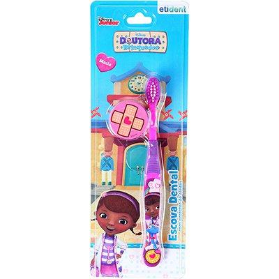 Escova dental Doutora Brinquedo capa protetora DYD006 Frescor PT 1 UN