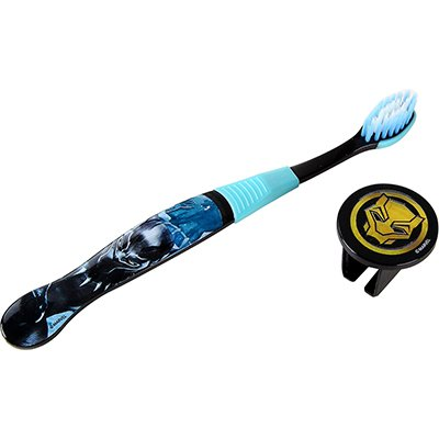 Escova dental Pantera Negra capa protetora DYD008 Frescor PT 1 UN