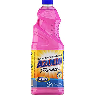 Desinfetante floratta 2L Azulim 15144 Start Quimica PT 1 UN