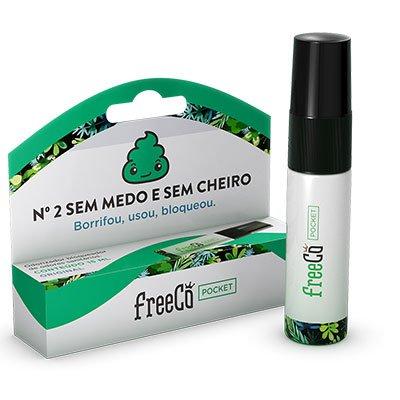 Bloqueador de odor sanitário Freecô 15ml original FreeCô PT 1 UN